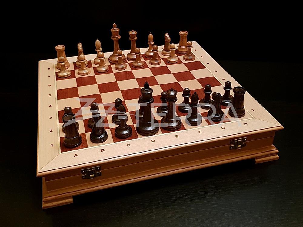 """Шахматы """"Стаунтон Презент"""" бук"""