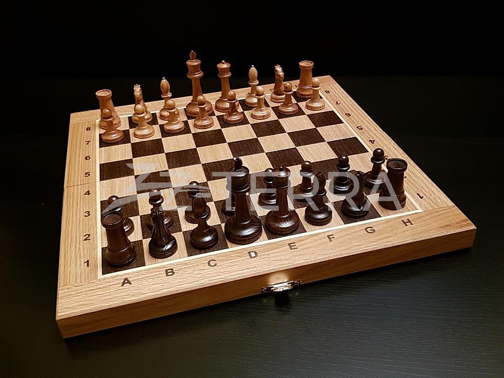 """Шахматы """"Стаунтон"""" дуб..."""