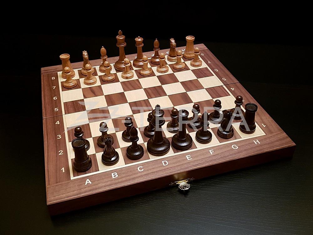 """Шахматы """"Стаунтон"""" орех..."""
