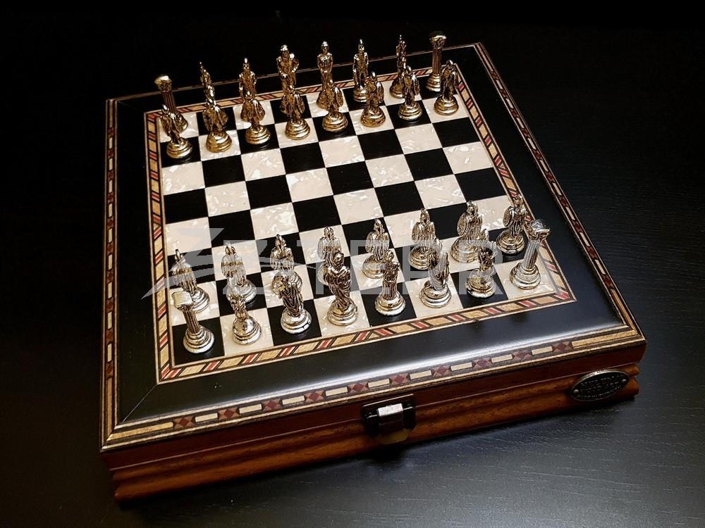 "Шахматы ""Илиада мини"" венге..."