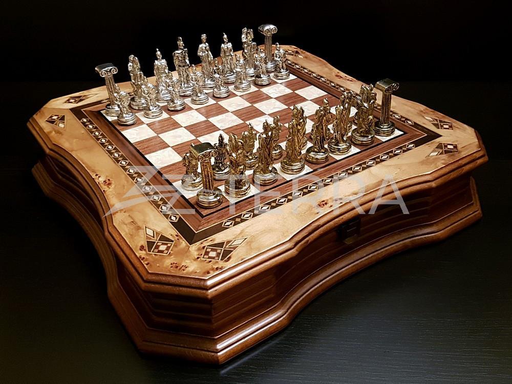 """Шахматы """"Легион"""" клен антик"""