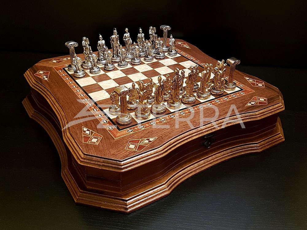 """Шахматы """"Легион"""" орех антик"""