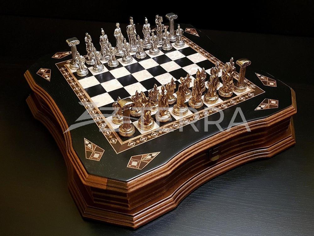 """Шахматы """"Легион"""" венге антик"""