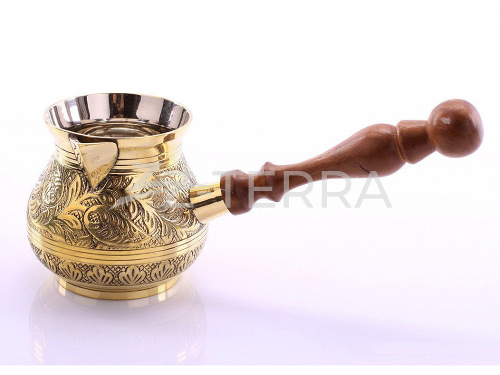 Турка для кофе бронзовая...