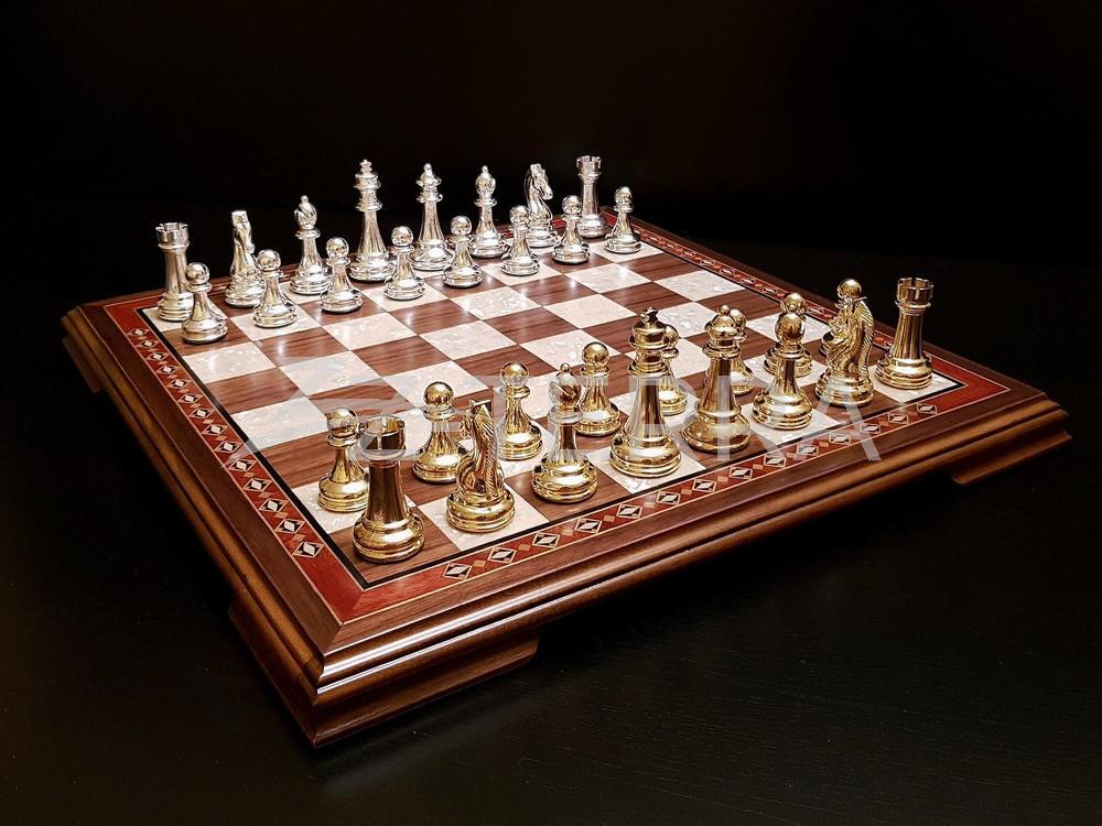 """Шахматы """"Поединок"""" орех..."""