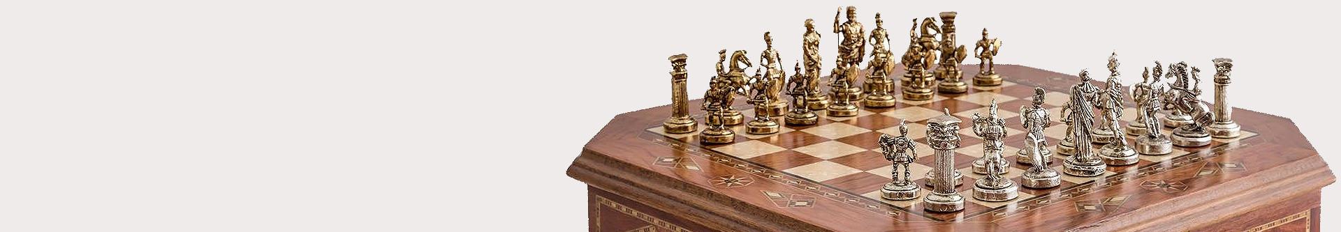 Подарочные шахматы - купить в интернет-магазине настольных игр ручной работы ❤
